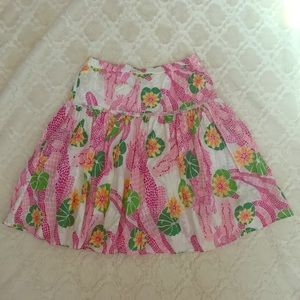 Vintage Lilly Pulitzer Alligator Skirt